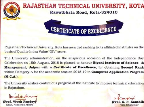 best college for mca in rajasthan
